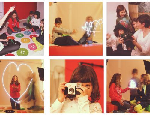 DALE AL BOTÓN – Curso de fotografía creativa para niños de 6 a 12 años